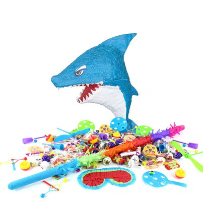Shark Piñata Kit