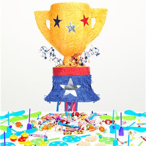 Trophy Pull Piñata Kit