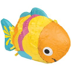 Mini Fish Pinata Decoration - 17cm