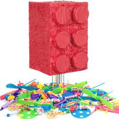 Block Party Pull Piñata Kit