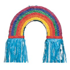 Rainbow Piñata - 55cm Long