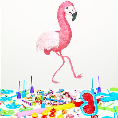 Flamingo Piñata Kit