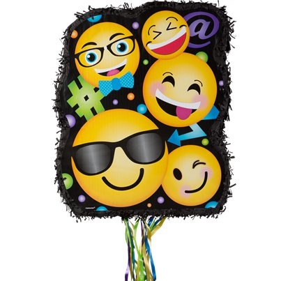 Smiley Pull Piñata