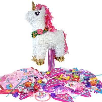 Unicorn Pull Piñata Kit