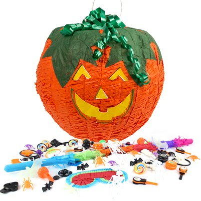 Pumpkin Pinata Kit (without Sweets)