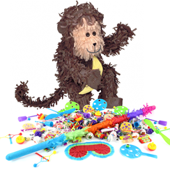 Monkey Piñata Kit