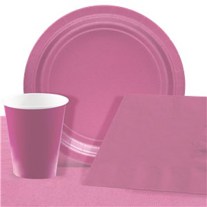 Baby Pink Party Pack For 8 People - Value Pack For 8