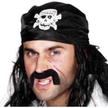 Pirate Bandana  - Pirate Hats Fancy Dress Costume Accessories front