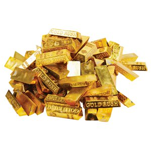 Gold Bar Treasure Table Scatter