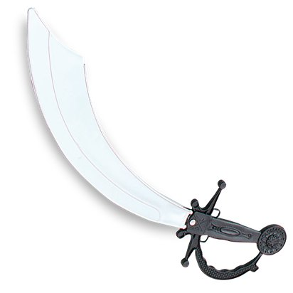 Pirate Cutlass Sword - 45cm - Pirate Fancy Dress Costume Accessories front