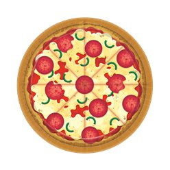 Pizza Party Paper Plates -18cm