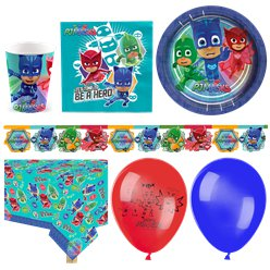 PJ Masks Party Pack - Deluxe Pack for 16