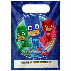 PJ Masks Plastic Party Bags