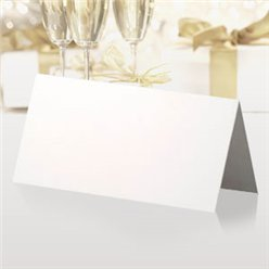 Wedding Place Cards - White