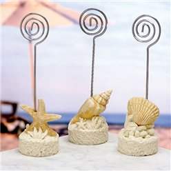 Beach Theme Place Card Holder