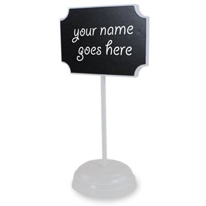 Chalkboard Placecard Holders