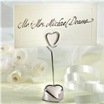 Loving Heart Wedding Place Card Holder