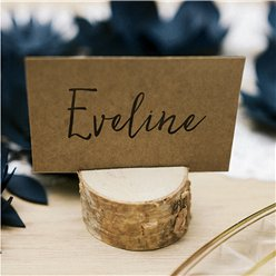Wooden Log Place Card Holders
