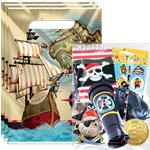 Pirate's Map Pre-filled Party Bag Kit