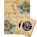 Pirate's Map Invites - Party Invitation Cards