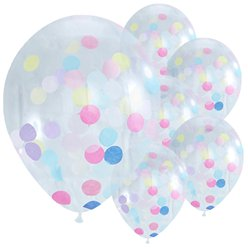 Pick & Mix Confetti Balloons - 12