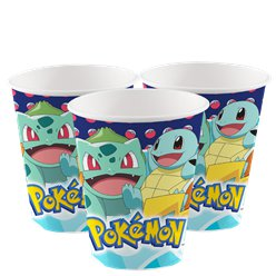 Pokémon Paper Cups - 250ml
