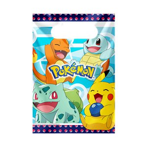 Pokémon Plastic Party Bags