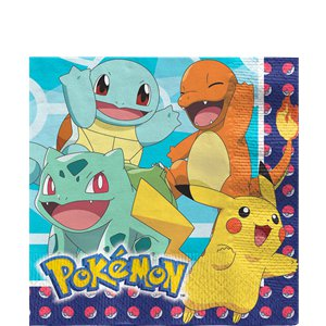 Pokémon Lunch Napkins - 33cm