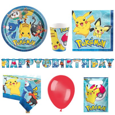 Pokémon Party Deluxe Party Pack For 16