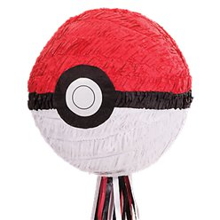 Pokemon Pokeball Pull Pinata