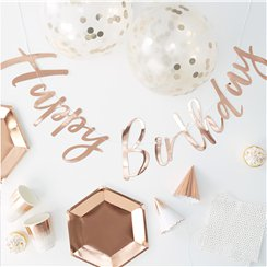 Pick & Mix Rose Gold Party In a Box