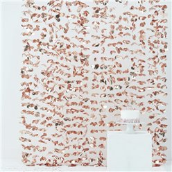 Rose Gold Flower Curtain Backdrop