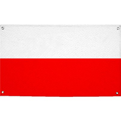 Polish Cloth Flag - 1.5m