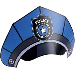 Police Party Hats