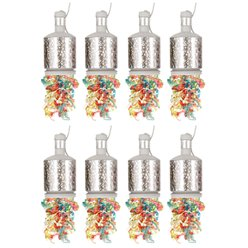 Silver Holographic Party Poppers