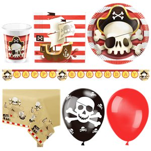 Powerful Pirates Deluxe Party Pack