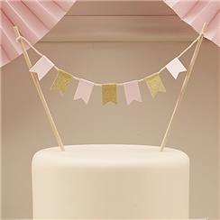Pastel Perfection Cake Bunting - 17cm