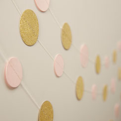 Pastel Perfection Circle Garland - 5m