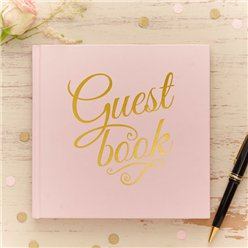 Pastel Perfection Wedding Guest Book