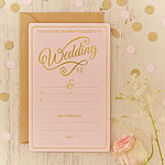 Pastel Perfection Wedding Invitations