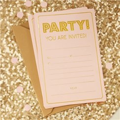 Pastel Perfection Party Invitations