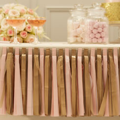 Pastel Perfection Tassel Garland Decoration - 2.5m