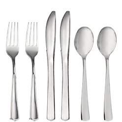 Premium Silver Reusable Cutlery - Assorted 32pkk