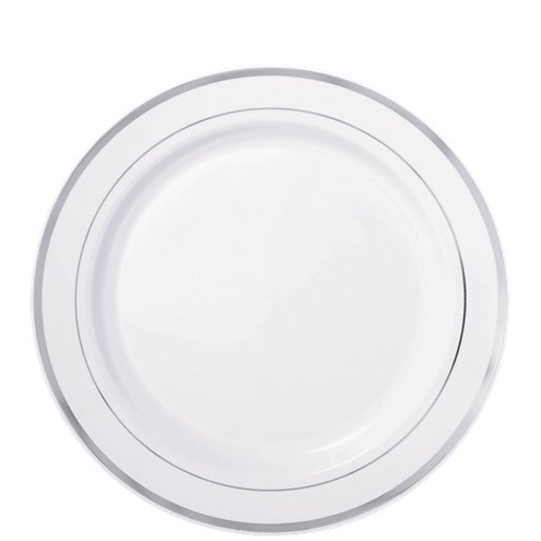 Born To Be Loved Paper Party Plates tableware 19cm 12pk