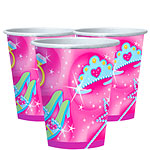 Prismatic Princess Paper Cups 266ml