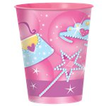 Prismatic Princess Plastic Favour Cup - 455ml