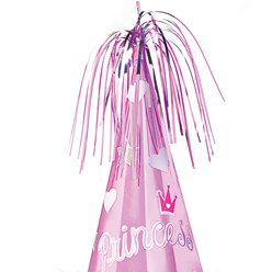 Prismatic Princess Foil Cone Party Hat - 25cm