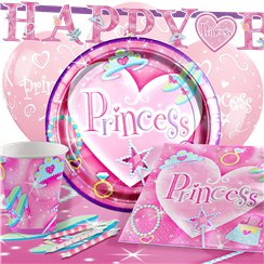 Prismatic Princess Party Pack - Deluxe Pack for 8