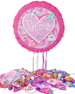 Prismatic Princess Pull Piñata Kit