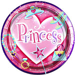 Princess Party Plates - 23cm Paper Party Plates